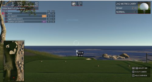 Capture #2 - Simulateur de golf