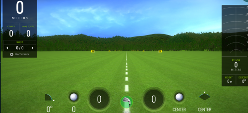 Capture #3 - Simulateur de golf